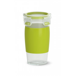 Кружка EMSA CLIP & GO SMOOTHIE MUG, зеленая Emsa 0,45 л N1071500