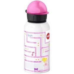 Детская питьевая фляжка 0,4 л Emsa KIDS FLASKS Лабиринт Девочка, 514395