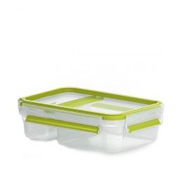 Йогурт-бокс EMSA CLIP & GO, 0,6 л, зелёный Emsa 518103