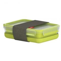 Ланч-бокс EMSA CLIP & GO со вставками, 1,2 л, зелёный Emsa 518098