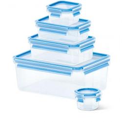 Набор из 5 контейнеров  0,15, 0,25, 0,55, 1 и 3 л Emsa CLIP&CLOSE 508568