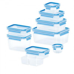 Набор из 9 контейнеров EMSA CLIP&CLOSE Emsa 515481
