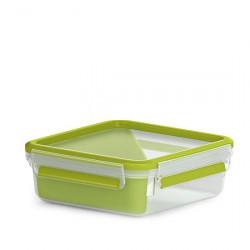 Сэндвич-бокс EMSA CLIP & GO со вставкой, 0,85 л, зелёный Emsa 518104