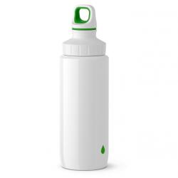 Бутылка для воды 0,6 л Emsa 518356 белая