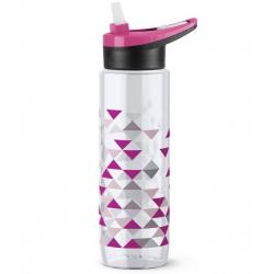 Бутылка для воды EMSA Drink2Go N3031000 0,7 л с узором