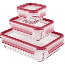 Набор из 3 контейнеров EMSA CLIP&CLOSE GLASS 514169