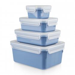 Набор контейнеров 4 шт. EMSA CLIP&CLOSE COLOR N1030800