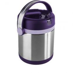 Термос для ланча EMSA MOBILITY, 1,2 л, фиолетовый и стальной Emsa 509233