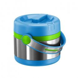 Термос для ланча EMSA MOBILITY KIDS, 0,65 л, голубой с зелёным Emsa 515862