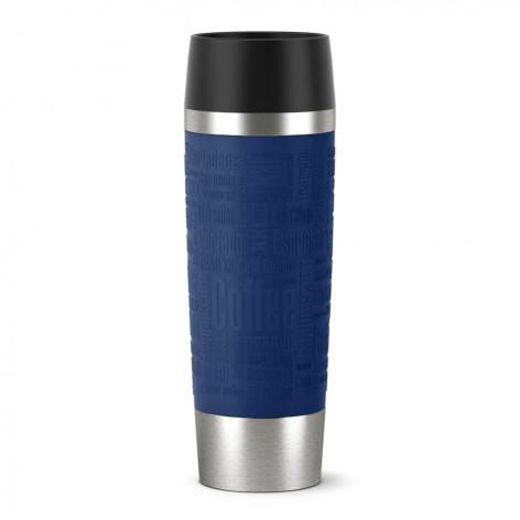 Термокружка EMSA TRAVEL MUG GRANDE, 0,5 л, синяя Emsa 515618 - emsa – фото 1