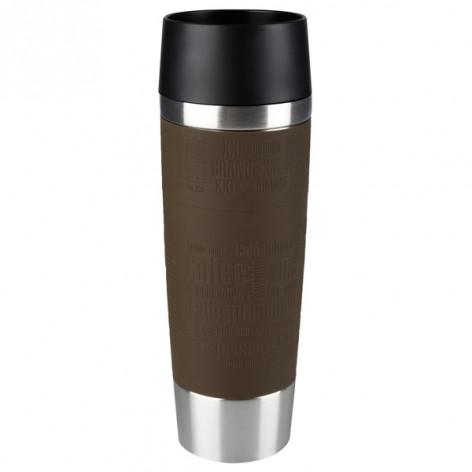 Термокружка EMSA TRAVEL MUG GRANDE, 0,5 л, коричневая Emsa 515616 - emsa – фото 1
