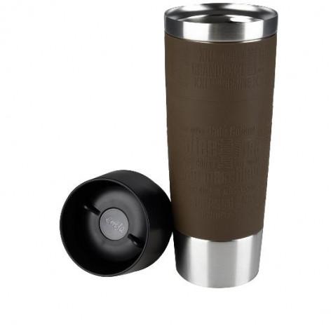 Термокружка EMSA TRAVEL MUG GRANDE, 0,5 л, коричневая Emsa 515616 - emsa – фото 2