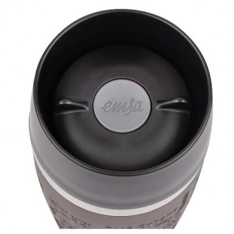 Термокружка EMSA TRAVEL MUG GRANDE, 0,5 л, коричневая Emsa 515616 - emsa – фото 4