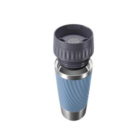Термокружка  0,36 л, синяя Emsa TRAVEL MUG EASY TWIST N2011800 - emsa – фото 2