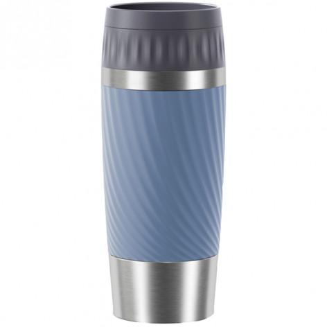 Термокружка  0,36 л, синяя Emsa TRAVEL MUG EASY TWIST N2011800 - emsa – фото 1