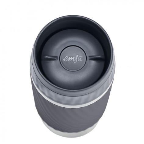 Термокружка EMSA TRAVEL MUG EASY TWIST, 0,36 л, графит Emsa N2011500 - emsa – фото 4
