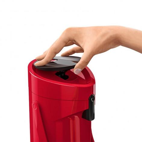 Помповый термос EMSA PONZA, 1,9 л, красный Emsa 515708 - emsa – фото 5
