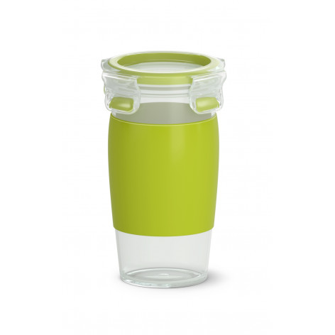 Кружка EMSA CLIP & GO SMOOTHIE MUG, зеленая Emsa 0,45 л N1071500 - emsa – фото 1