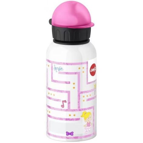 Детская питьевая фляжка 0,4 л Emsa KIDS FLASKS Лабиринт Девочка, 514395 - emsa – фото 1