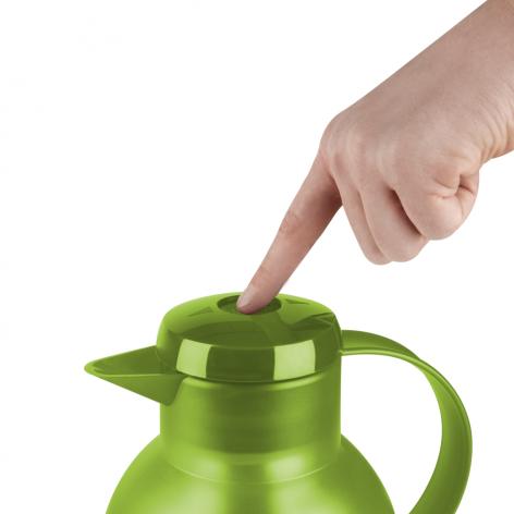 Термос-чайник EMSA Samba 1 л из пластика со стеклянной колбой Emsa K3036312 - emsa – фото 2