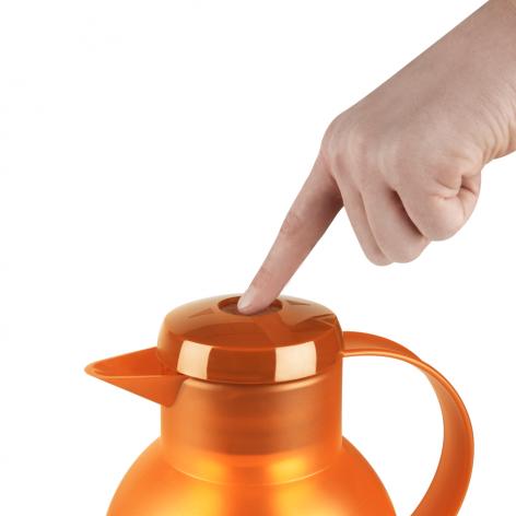Термос-чайник EMSA Samba 1 л из пластика со стеклянной колбой Emsa K3032314 - emsa – фото 4