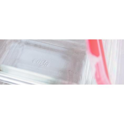 Контейнер EMSA CLIP&CLOSE GLASS стеклянный прямоугольный, 0,5 л Emsa 513918 - emsa – фото 2