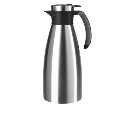 Термос-чайник EMSA SOFT GRIP, 1,5 л, чёрный и сталь Emsa 514499 - emsa – фото 1