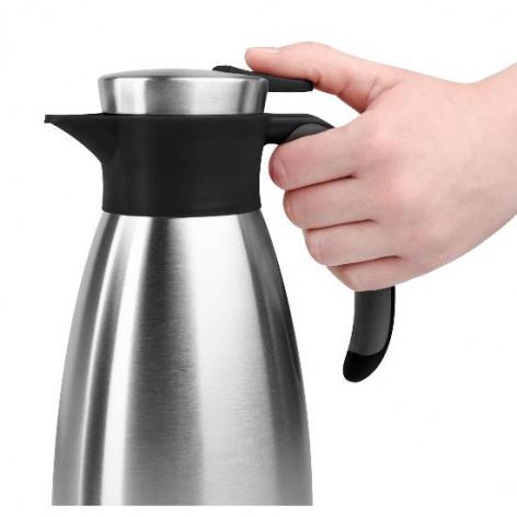 Термос-чайник EMSA SOFT GRIP, 1,5 л, чёрный и сталь Emsa 514499 - emsa – фото 5