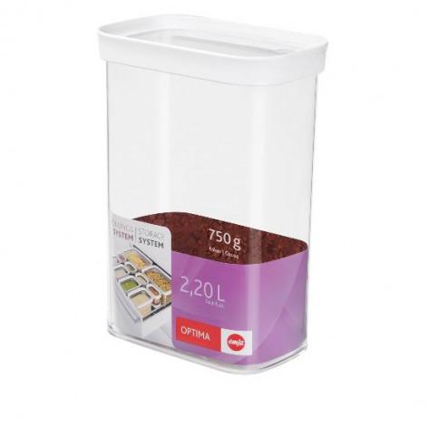 Контейнер EMSA OPTIMA для сыпучих продуктов прямоугольный, 2,2 л Emsa 514552 - emsa – фото 2