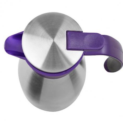 Термос-чайник EMSA SOFT GRIP, 1,5 л, ежевика и сталь Emsa 514500 - emsa – фото 2