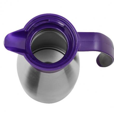 Термос-чайник EMSA SOFT GRIP, 1,5 л, ежевика и сталь Emsa 514500 - emsa – фото 3