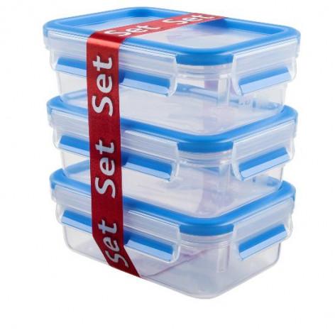 Набор из 3 контейнеров EMSA CLIP&CLOSE, 0,55 л Emsa 508570 - emsa – фото 2