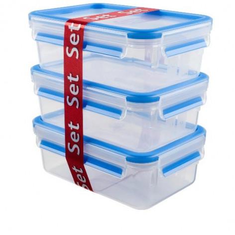 Набор из 3 контейнеров EMSA CLIP&CLOSE, 1 л Emsa 508558 - emsa – фото 2