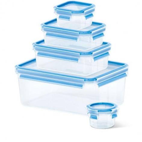 Набор из 5 контейнеров  0,15, 0,25, 0,55, 1 и 3 л Emsa CLIP&CLOSE 508568 - emsa – фото 1