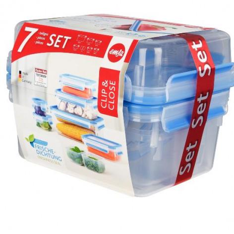 Набор из 7 контейнеров EMSA CLIP&CLOSE Emsa 515562 - emsa – фото 3