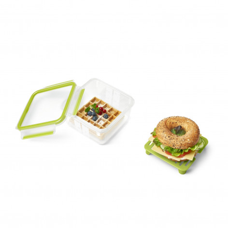 Сэндвич-бокс EMSA CLIP & GO XL, зелёный Emsa 1,3 л N1071700 - emsa – фото 3