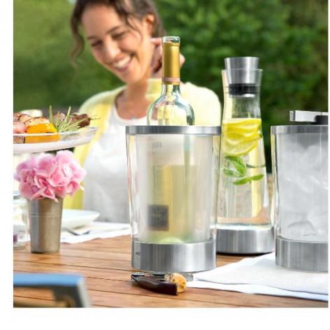 Ведёрко для охлаждения вина EMSA FLOW SLIM стеклянное Emsa 514234 - emsa – фото 5