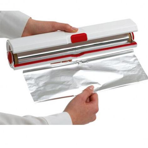 Диспенсер для плёнки и фольги EMSA CLICK&CUT 33 см, красный Emsa 508020 - emsa – фото 2
