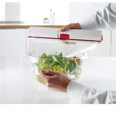 Диспенсер для плёнки и фольги EMSA CLICK&CUT 33 см, красный Emsa 508020 - emsa – фото 3