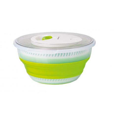 Сушилка для салата EMSA BASIC складная, 4 л, зелёная Emsa 512992 - emsa – фото 1