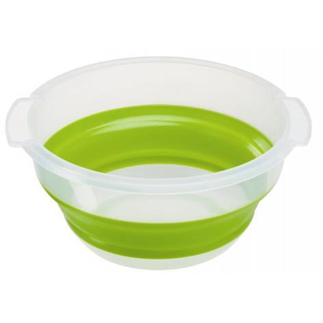 Сушилка для салата EMSA BASIC складная, 4 л, зелёная Emsa 512992 - emsa – фото 3