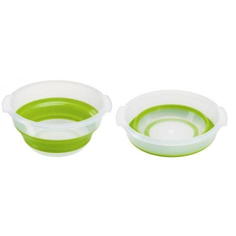 Сушилка для салата EMSA BASIC складная, 4 л, зелёная Emsa 512992 - emsa – фото 4