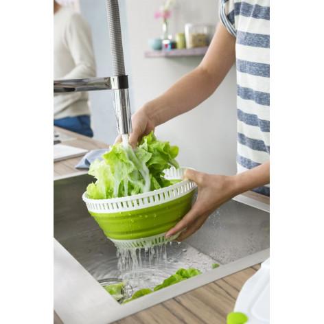 Сушилка для салата EMSA BASIC складная, 4 л, зелёная Emsa 512992 - emsa – фото 7
