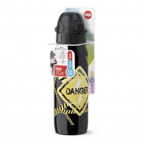 Термофляжка EMSA, ISO2GO, Опасность, 0,5 л Emsa 518376 - emsa – фото 3