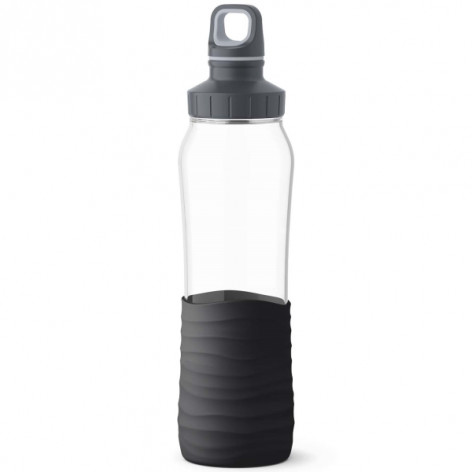Бутылка для воды 0,7 л Emsa N3100100 черная - emsa – фото 1
