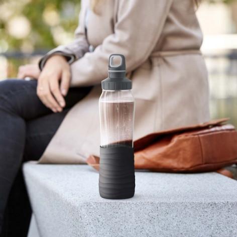Бутылка для воды 0,7 л Emsa N3100100 черная - emsa – фото 5