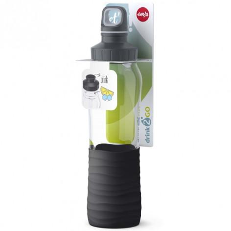 Бутылка для воды 0,7 л Emsa N3100100 черная - emsa – фото 6