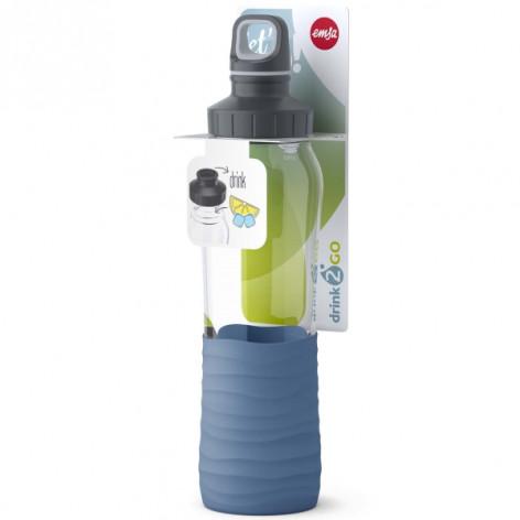 Бутылка для воды 0,7 л Emsa N3100200 синяя - emsa – фото 5