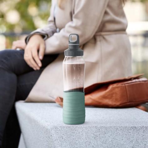 Бутылка для воды 0,7 л Emsa N3100300 зеленая - emsa – фото 3
