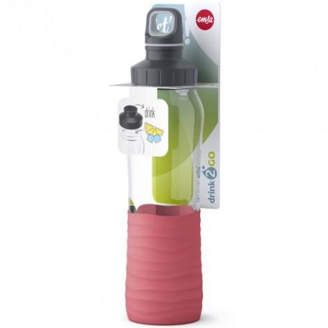 Бутылка для воды 0,7 л Emsa N3100400 розовая - emsa – фото 5